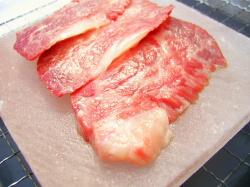 岩塩プレート肉乗せ3
